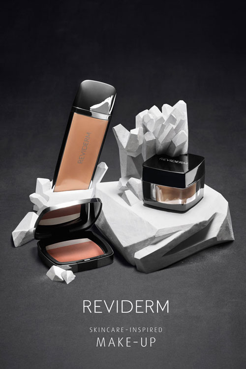 Reviderm Foundation Selection Stay On Minerals