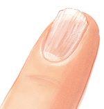 Trockener Fingernagel